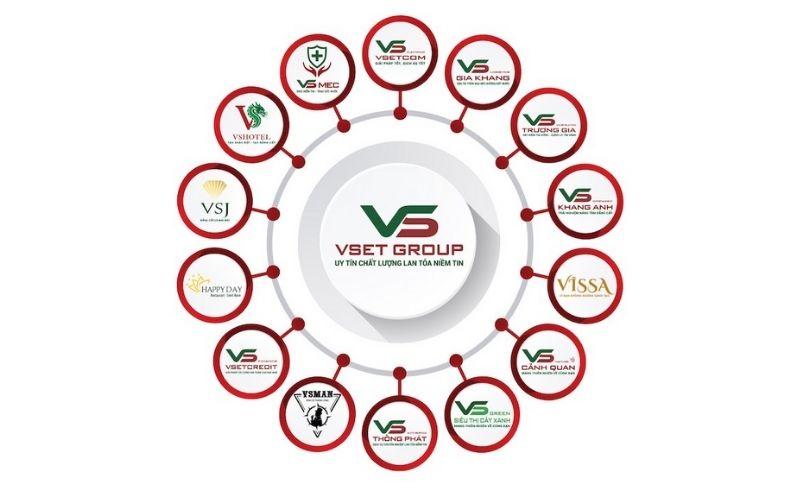 Tập đoàn VsetGroup kinh doanh lĩnh vực gì?