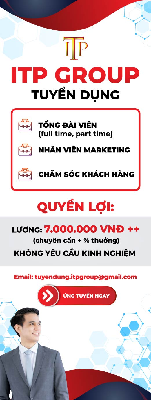 ITP Group tuyển dụng